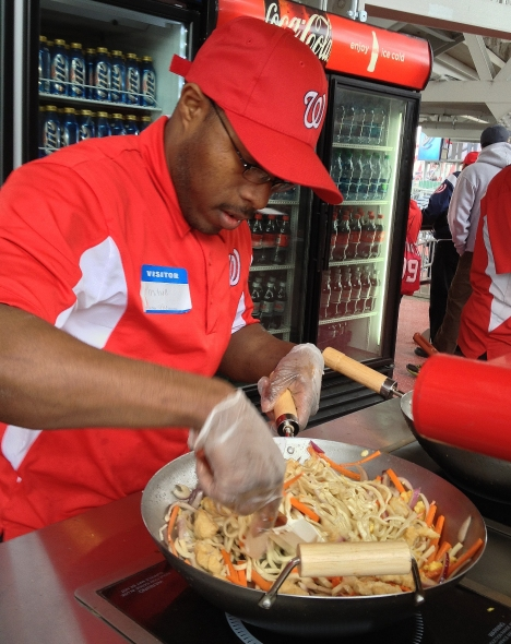Nationals Park Chinese Food Stand - Intentional Walk - Washington Nationals Stadium Food Stand/Cart
