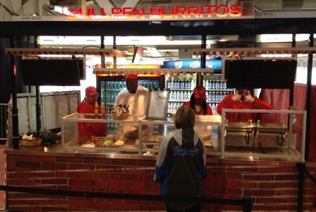 Nationals Park Bullpen Burritos
