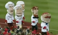 Nationals racing presidents running left Teddy wins