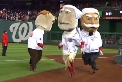 Nationals Racing Presidents Teddy George Bill