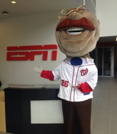 Nationals racing president Teddy Roosevelt ESPN ad