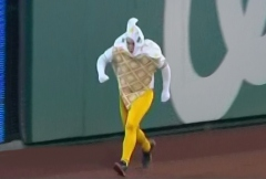Washington Nationals Presidents Race Waffle Cone Ice Cream