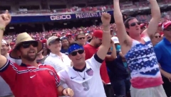 Washington Nationals Presidents Race World Cup USA 2