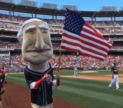 George Washington 4th of July Nationals Park