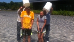 Lindsay Czarniak Ice Bucket Challenge