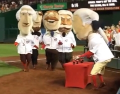Nationals Racing Presidents Share a Coke