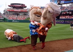 Teddy Roosevelt clobbers Jefferson Nationals presidents race