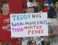Teddy Roosevelt Hunter Pence