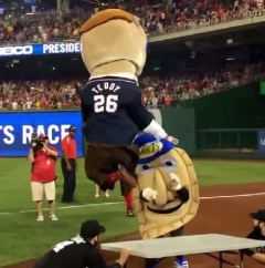 Teddy Roosevelt pummels Pittsburgh Potato Pete