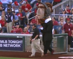 Replay official Abraham Lincoln - Washington Nationals Racing Presidents