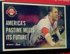 Washington Nationals Ads Ten years of