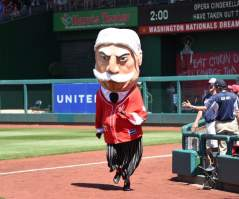 Washington Nationals Racing President William Howard Taft