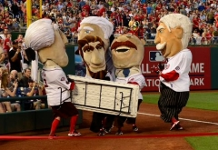 Nationals Racing presidents folding table clothesline 2