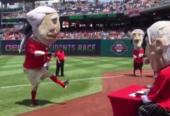 Paula Abdul Dance Off Presidents Race Washington