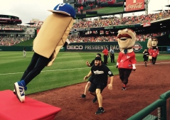 Racing Presidents Pittsburgh Pierogies Secret Service