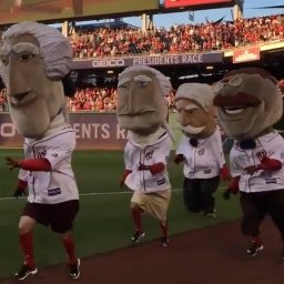 Video: Thomas Jefferson gets his first presidents race victory of the year on college rivalry night