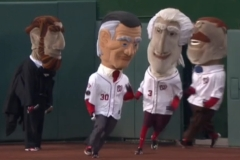 Abe Lincoln Ant Man racing presidents race