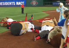 Martha Washington knocks out Nats Racing Presidents