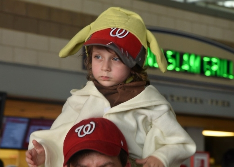Nationals Park Star Wars Day Costumes