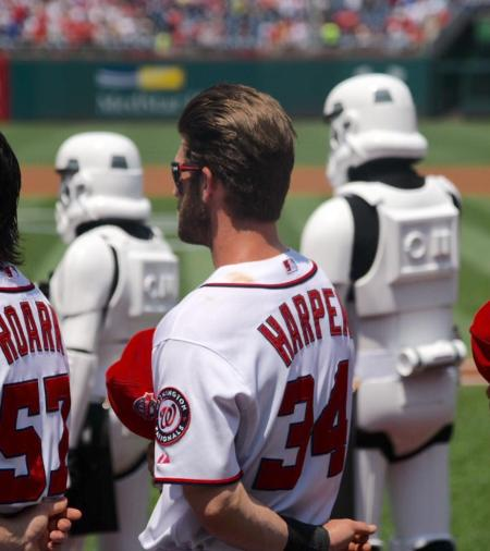 Nationals Star Wars Day Bryce Harper