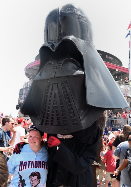Nationals Star Wars Day Darth Vader Abraham Lincoln