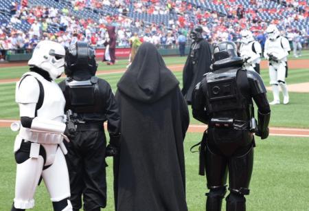 Nationals Star Wars Day evil dodgers