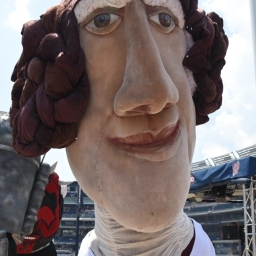 Photos & Video from Star Wars Day at Nationals Park: Jedi Knights, stormtroopers, an epic battle between costumed racing presidents, and Teddy Roosevelt dressed as a Wookie