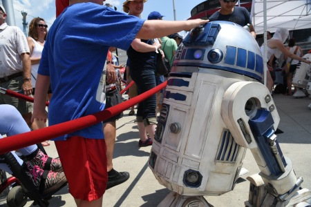 Nationals Star Wars Day R2D2