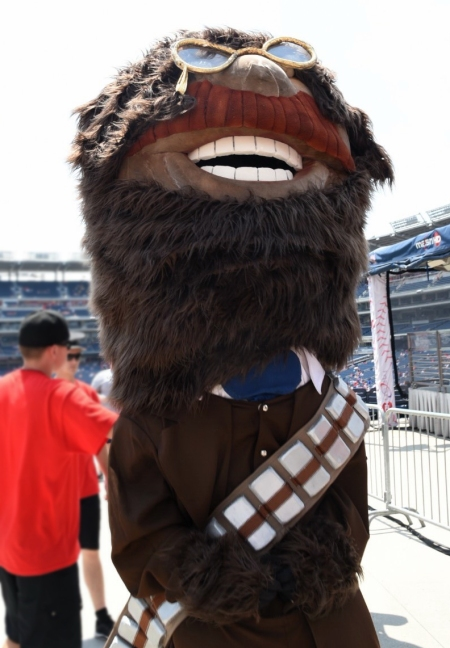 Nationals Star Wars Day Teddy Roosevelt Chewbacca Wookie