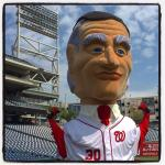 Washington Nationals Calvin Coolidge Racing President