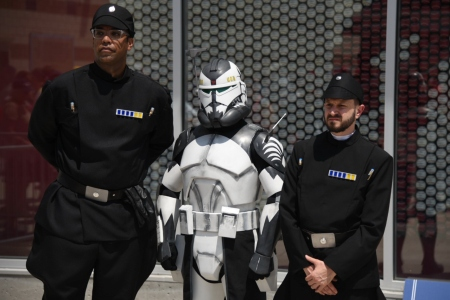 Washington Nationals Park Star Wars Day Costumes
