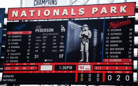 Washington Nationals Park Star Wars Day