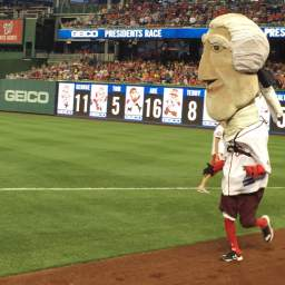 Video: MASN's Dan Kolko races as Thomas Jefferson
