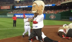 Nationals Anthony Rendon Garden Gnome presidents race