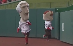 Nationals Presidents Race Runs Backwards Teddy Tom wins 1