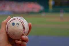 Foul Ball Nationals Park - by Scott Ableman