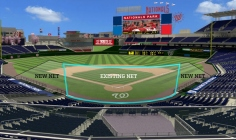 New Nationals Park Net Expanded Infield