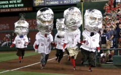 Astronaut presidents race