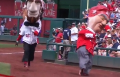 Indy 500 Nationals Presidents Race Hoover Spins Out of Control