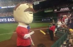 Presidents race teddy Roosevelt Rocket pop popsicle