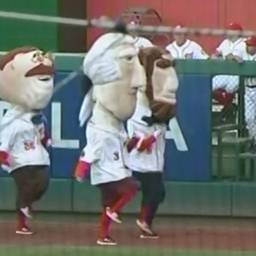Video: Racing presidents commemorate George Washington's 1775 appointment