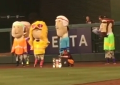 Racing presidents walk like an Egyptian 80s Night