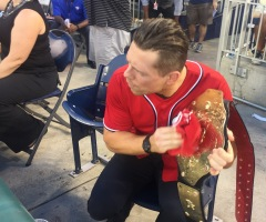 Mike The Miz WWE Washington Nationals Belt