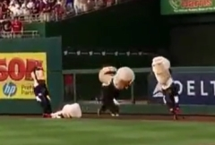 Racing presidents fainting