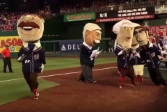 Teddy Roosevelt passes racing presidents