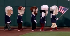 Nationals racing presidents Olympic March