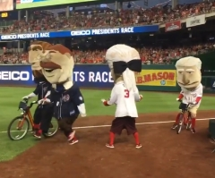 Nationals Racing Presidents race Olympic triathlon