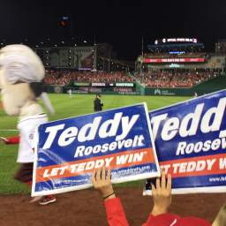 Video: Jefferson slams Teddy Roosevelt into the stands as Nationals attempt to quell curse talk