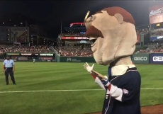 Racing presidents washington Nationals Teddy Roosevelt blueberry pie day