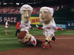 Teddy Roosevelt Nationals presidents race